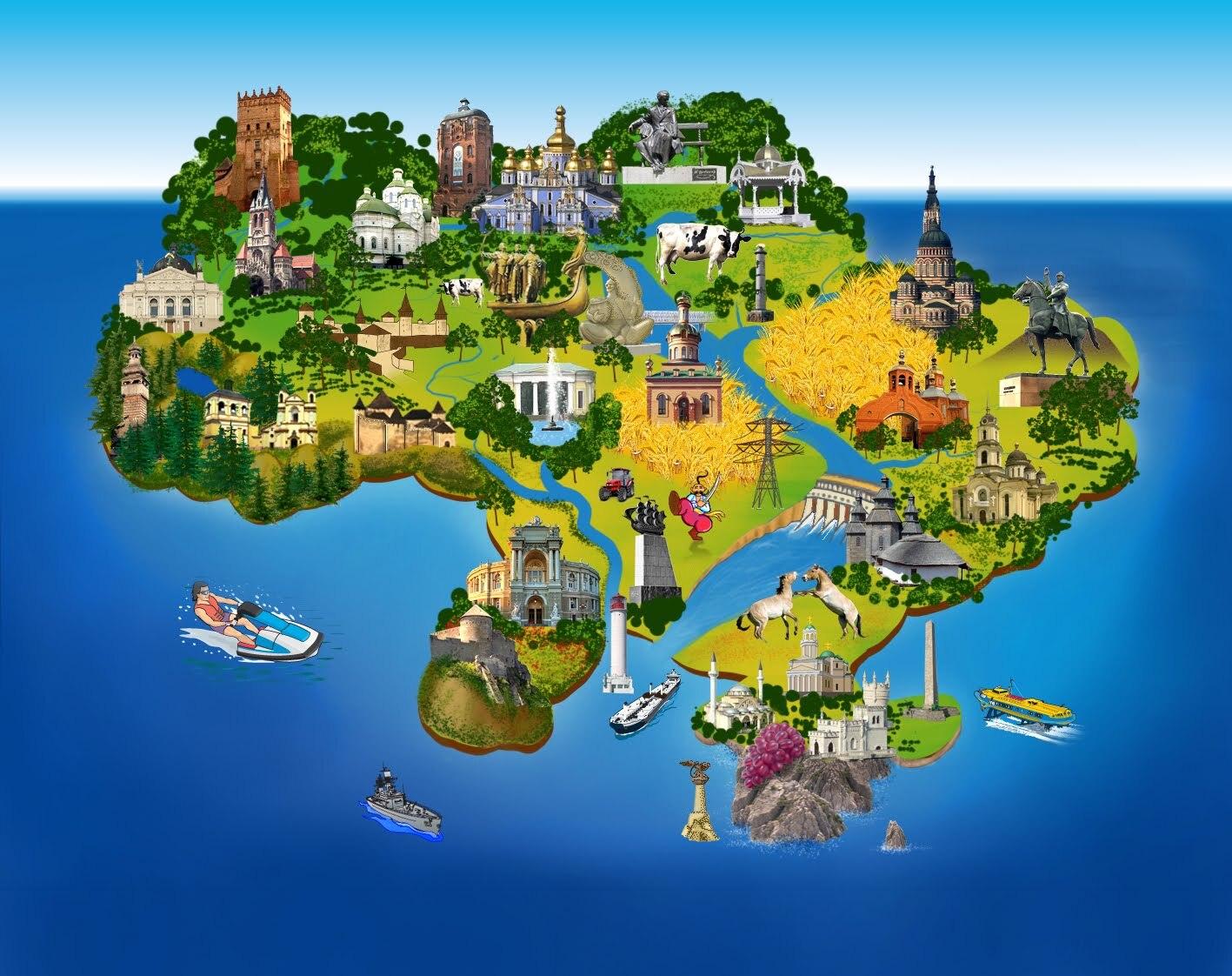Вся информация про туризм в Украине и безвизовый режим
